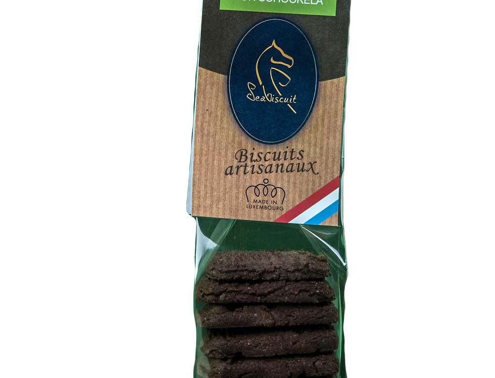 """Biscuits """"Tout Chocolat"""" - SeaBiscuit - 120Gr"""