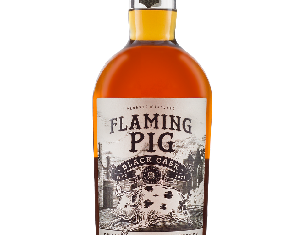 Whisky Flaming Pig Black Cask 40° 70cl