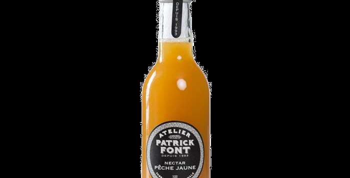 Patrick Font Nectar de pêche jaune - 25 cl