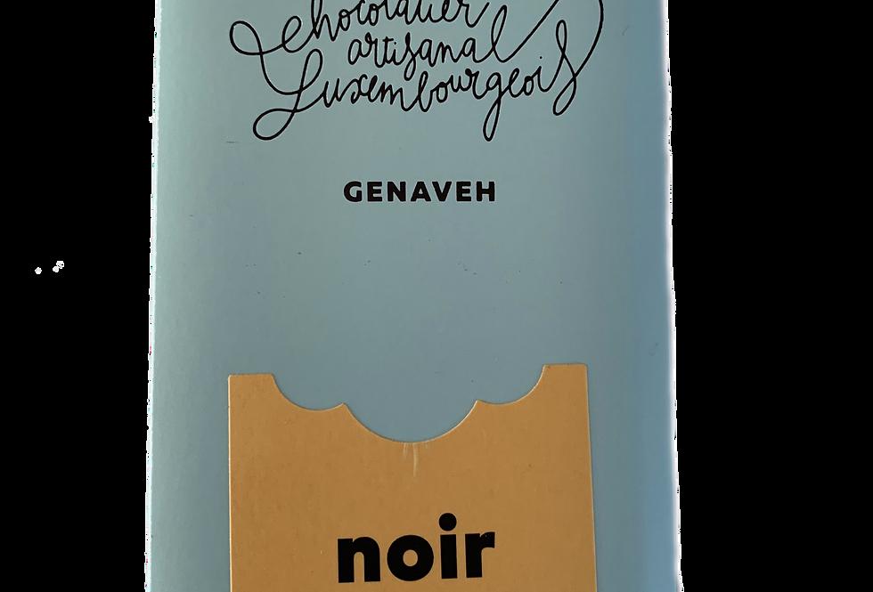 Tablette Chocolat noir amandes caramélisées - Genaveh - 100 gr