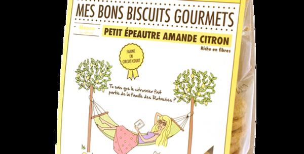 Biscuit DAO - Petit Epautre Amande Citron - 140 gr