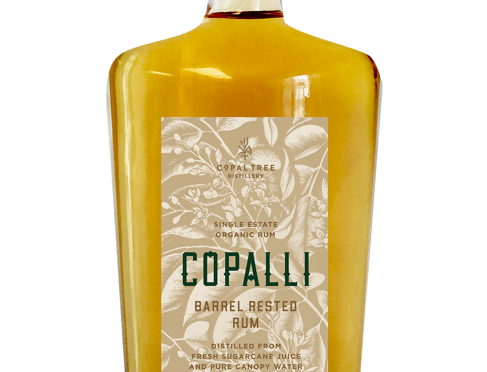 Rhum Copalli Barrel Rested Rum 44° 70cl