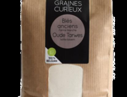 Farine de blés anciens blanche - Graines de Curieux - 1Kg
