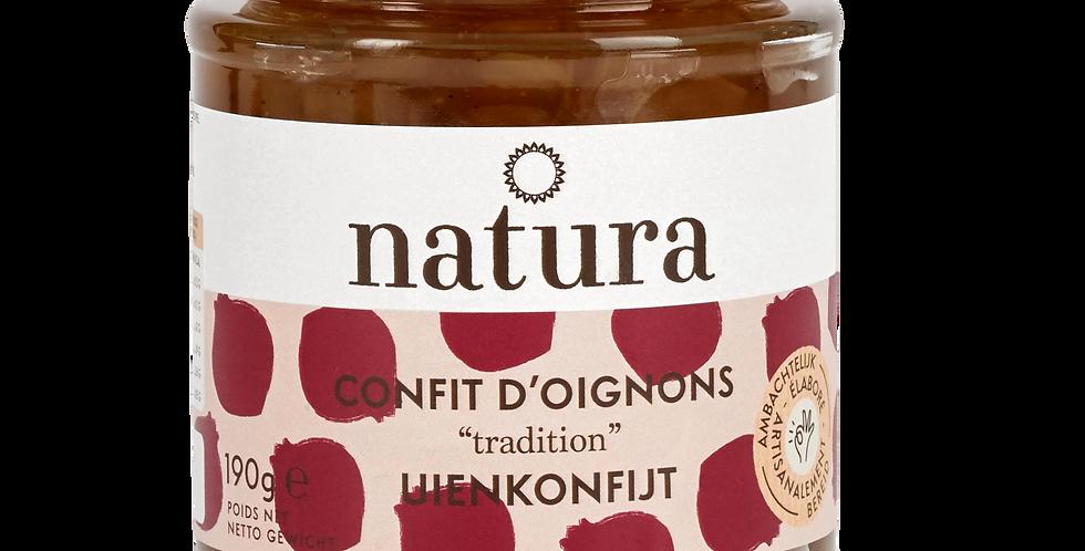 Confit d'oignons Natura - 190 gr
