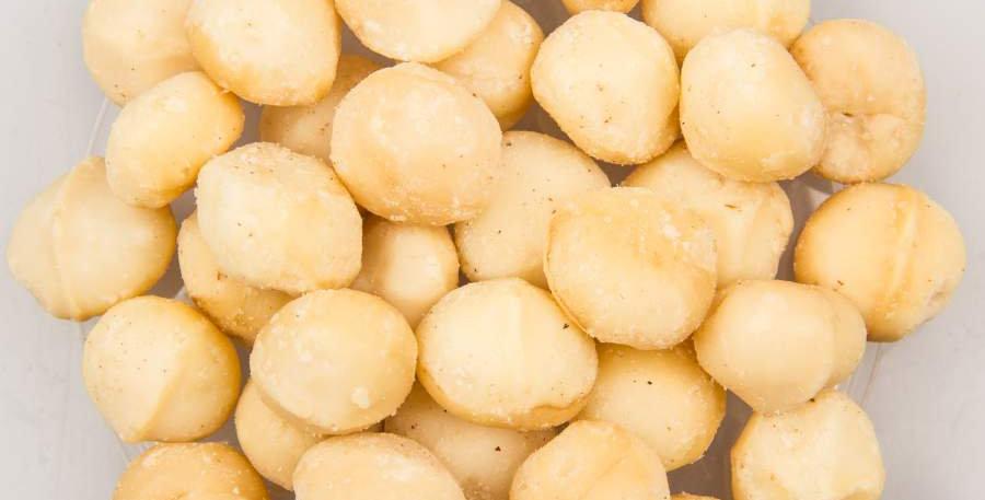 Noix de macadamia nature - 175 gr