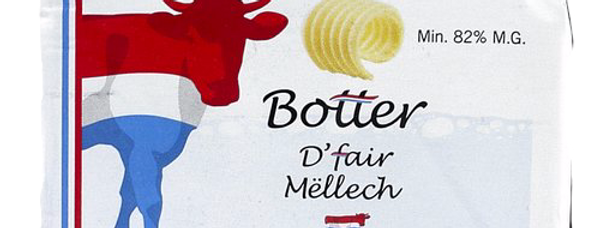 Beurre - Thiry Molkerei - 250Gr
