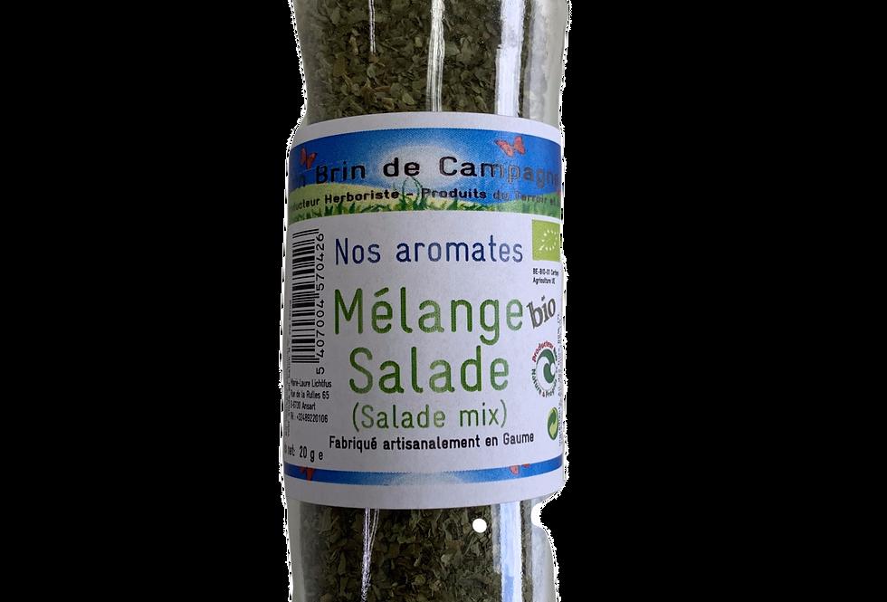 Mélange Salade BIO - Un brin de Campagne - 20 gr