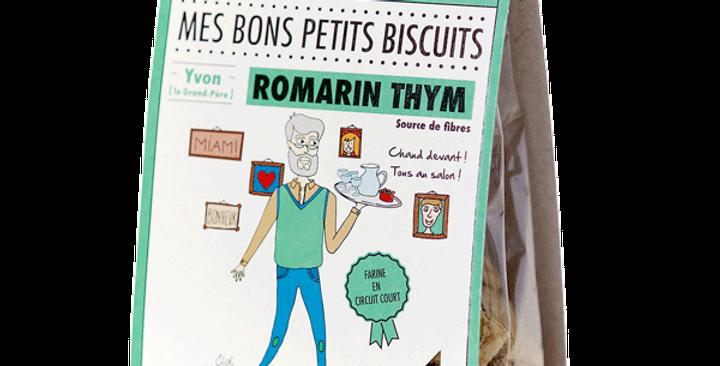 Biscuit DAO - Thym Romarin - 100 gr