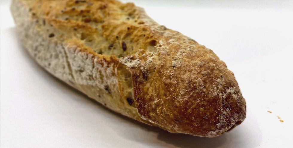 Baguette Céréales - Au Levain - Artisanat Certifié