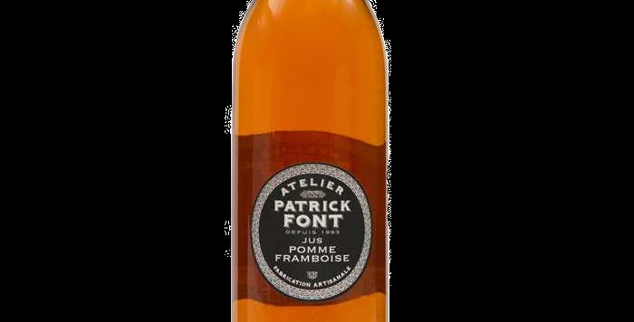 Patrick Font Jus de pomme framboise - 1 Litre
