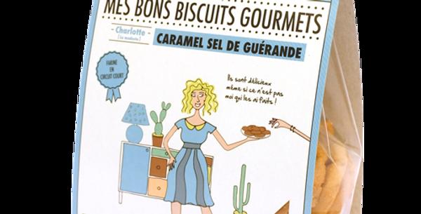 Biscuit DAO - Caramel Sel de Guérande - 140 gr