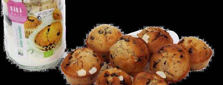 Lili Bulk - Mes Muffins Choc'Amandes BIO