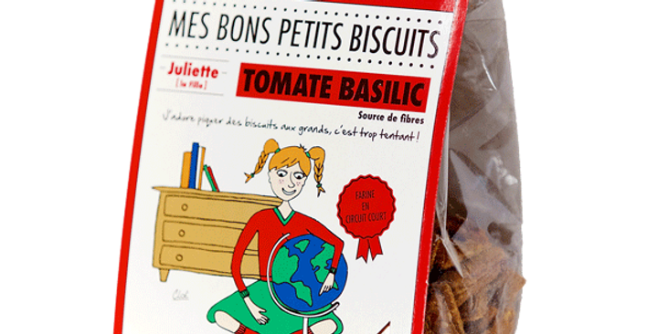 Biscuit DAO - Tomate Basilic - 100 gr