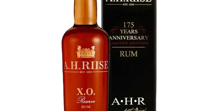 "Rhum A.H Riise XO Reserve ""175th Anniversary"" 42° 70cl"