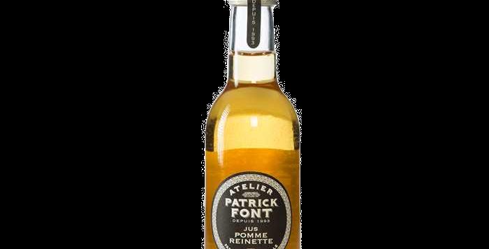 Patrick Font Jus de pomme reinette - 25 cl
