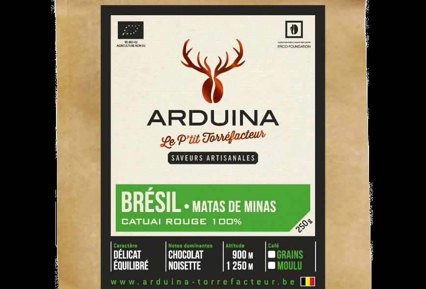Café Moulu Brésil - Arduina - 250 gr