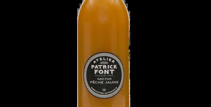 Patrick Font Nectar de pêche jaune - 1 Litre