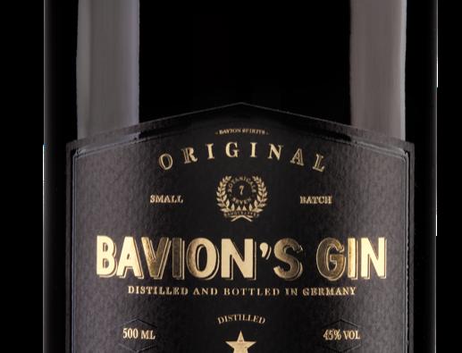 Gin Bavion Original 45° 0,5L