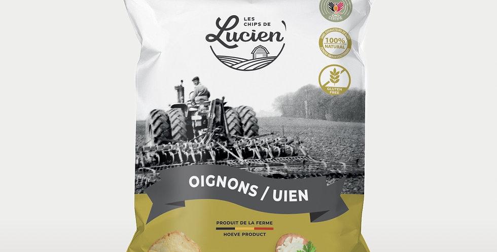 Les Chips de Lucien - Oignons - 125 gr