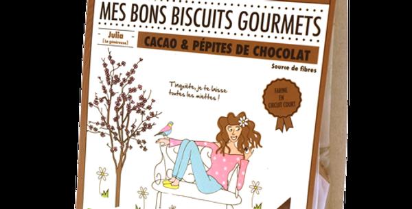 Biscuit DAO - Cacao et pépites de choco - 140 gr
