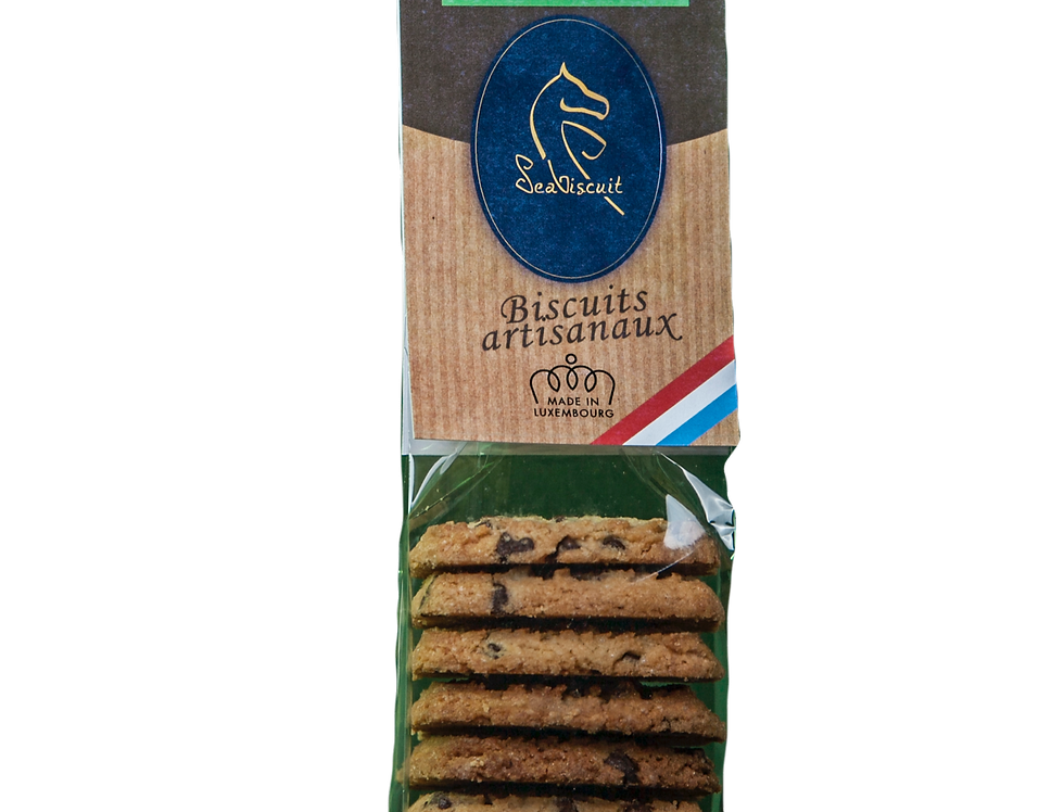 "Biscuits ""Pépites de Chocolat"" - SeaBiscuit - 120Gr"