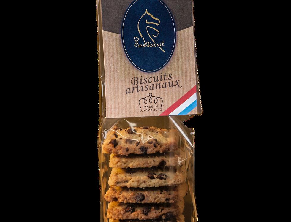 """Biscuits """"Pépites de Chocolat et Zestes d'Orange"""" - SeaBiscuit - 120Gr"""