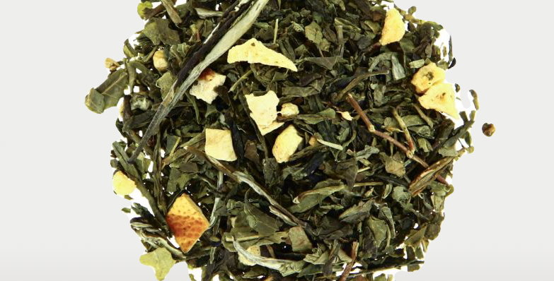 Thé vert parfumé  - ZEST & GINGER - Teatower
