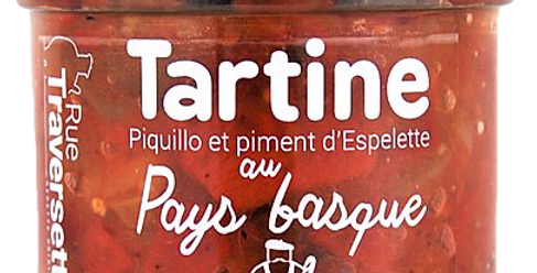 Tartine au Pays Basque - 110 gr