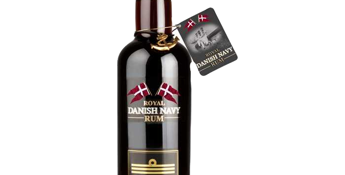 Rhum A.H Riise Royal Danish Navy Rum  40° 70cl