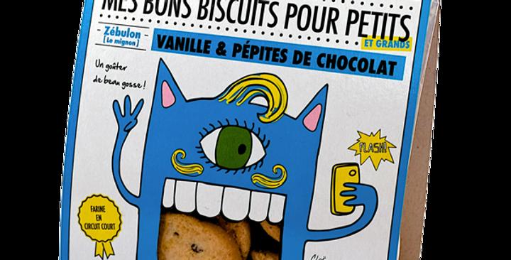 Biscuit DAO - Vanille et Pépites de Chocolat (- de sucre)- 130 gr