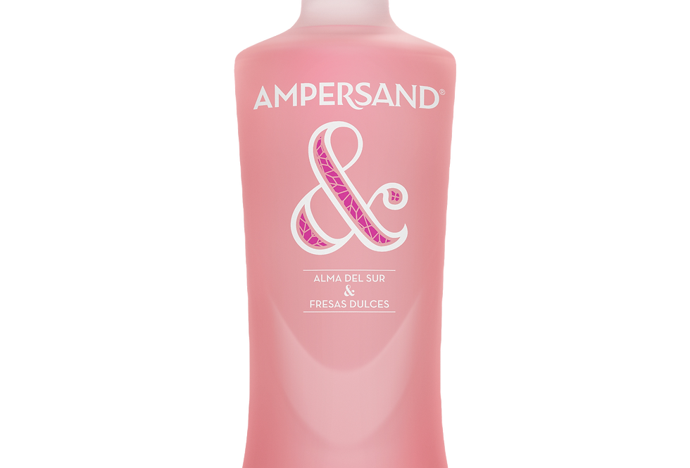 Gin Ampersand Strawberry 37,5° 70cl