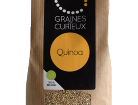 Le Quinoa bio - Graines de Curieux - 500Gr