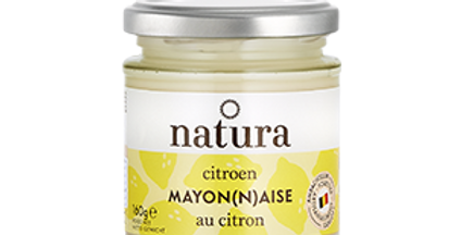 Mayonnaise au citron Natura - 160 gr