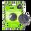 Thumbnail: Eponge Merveilleuse Konjac Visage Charbon Bambou - Lysea