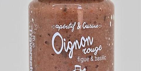 Oignon rouge -Figue & Basilic  - 90 gr