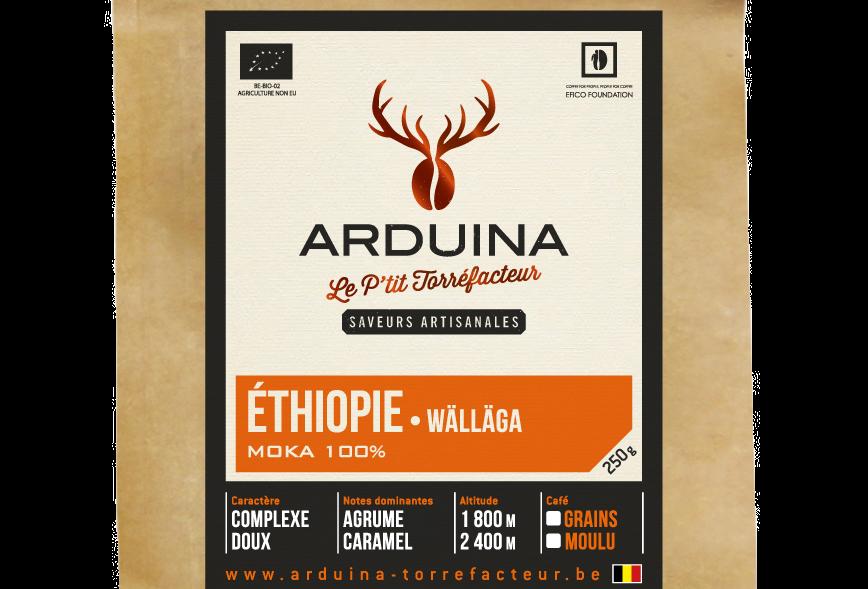 Café Grains Ethiopie - Arduina -250 gr
