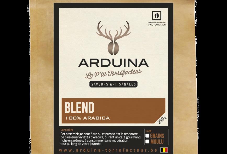 Café Grains Blend - Arduina - 250 gr