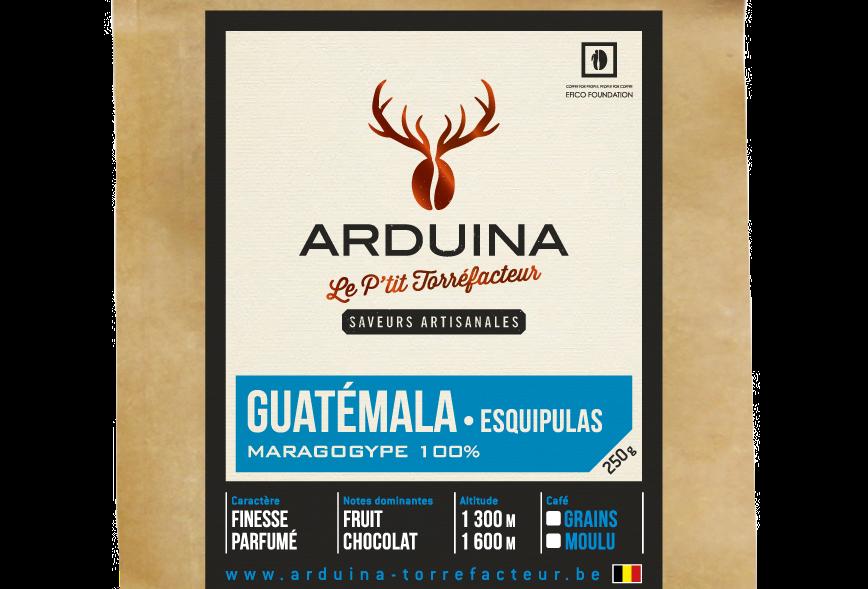Café Moulu Guatémala - Arduina -250 gr