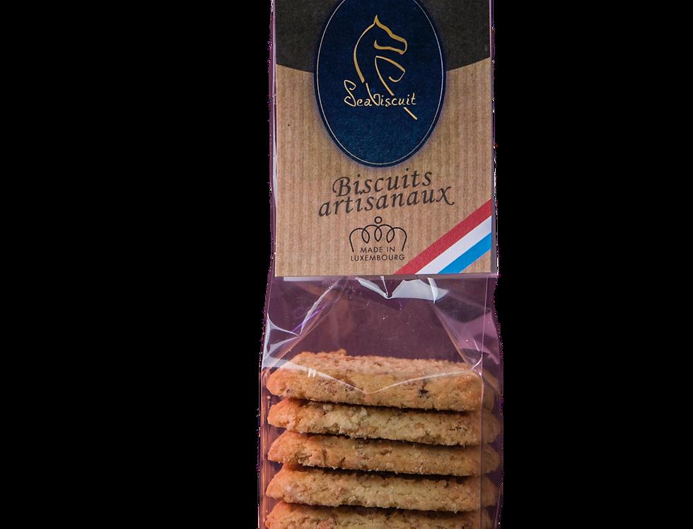 """Biscuits """"Noisettes caramélisées"""" - SeaBiscuit - 120Gr"""