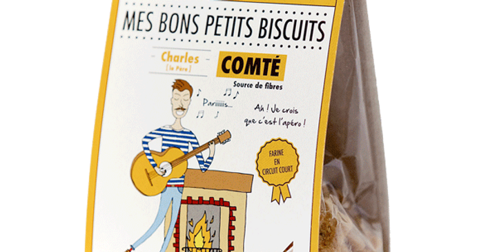 Biscuit DAO - Comté - 100 gr