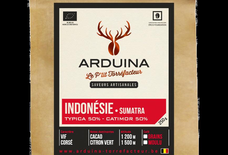 Café Moulu Indonésie - Arduina -250 gr