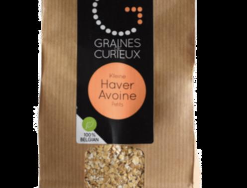 Petit Flocons d'avoine bio - Graines de Curieux - 500Gr