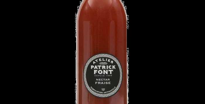 Patrick Font Nectar de fraise - 1 Litre
