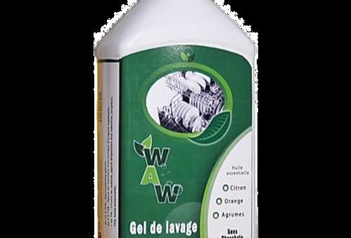 Gel de lavage pour lave-vaisselle   - Wallowash - 1L