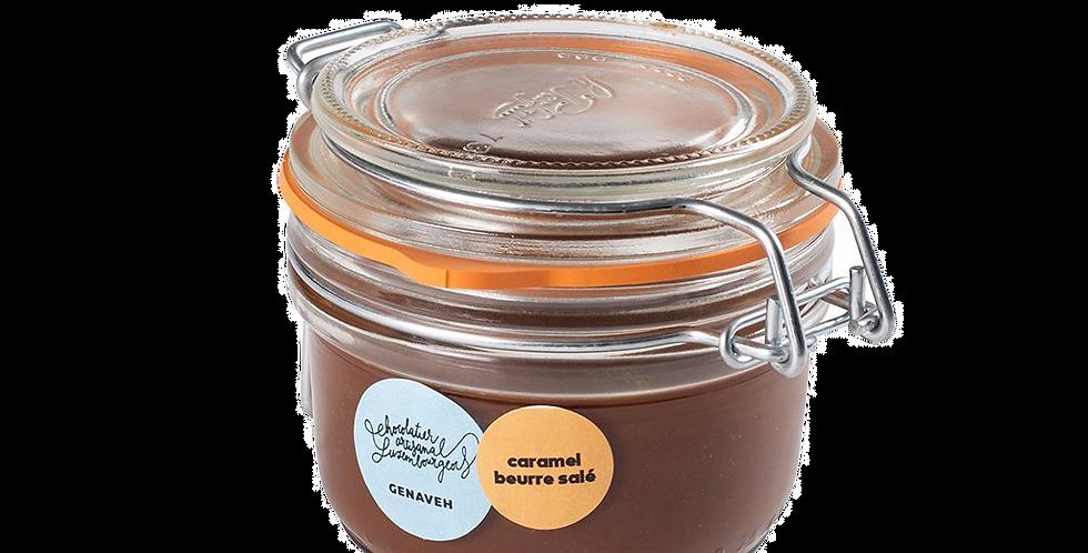 Pâte à Tartiner Chocolat Caramel Beurre Salé - Genaveh - 150 gr