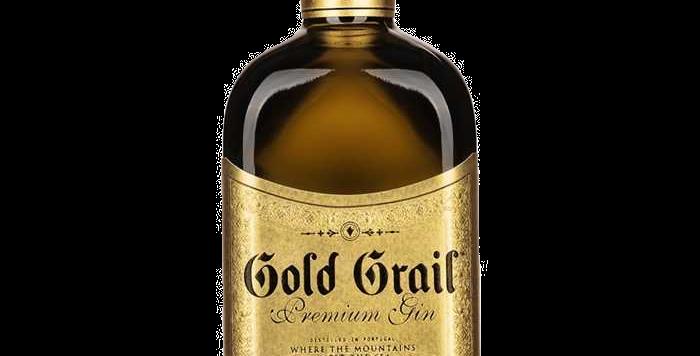 Gin Gold Grail 42°  50cl