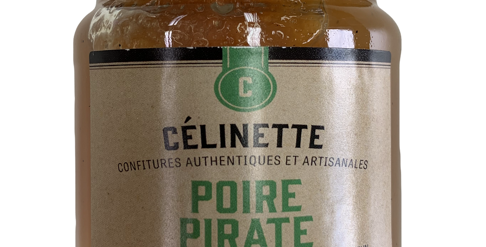 Confiture Célinette - Poire Pirate - 245Gr