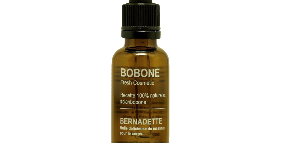 Huile de massage Bernadette  - Bobone - 30ml