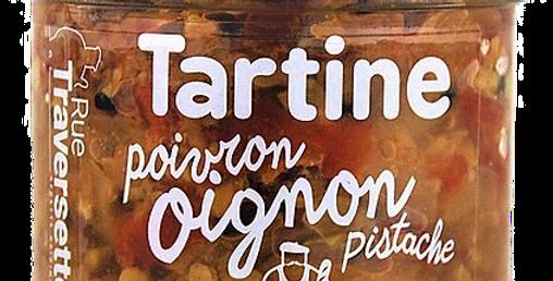 Tartine - Oignon, poivron & pistache - 110gr
