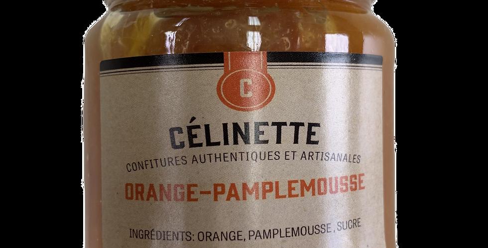 Confiture Célinette - Orange-Pamplemousse - 245Gr
